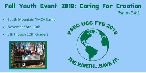 Fall Youth Event 2019 - Caring for Creation