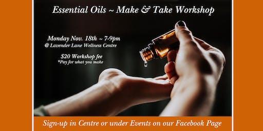 Make & Take Essential Oils Workshop