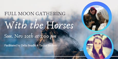 Full Moon Gathering with Horses tickets