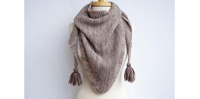 Knit A Triangle Shawl [Level 3] (2019-11-23 starts at 10:30 AM)