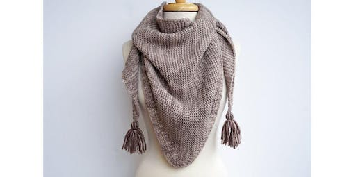 Knit A Triangle Shawl [Level 3] (2019-11-23 starts at 10:30 AM)
