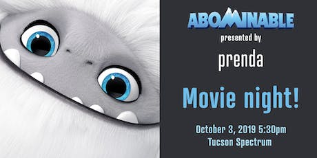 Movie Night: Abominable! Microschools in Tucson tickets