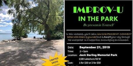 IMPROV Workshop - Leading Greatly tickets