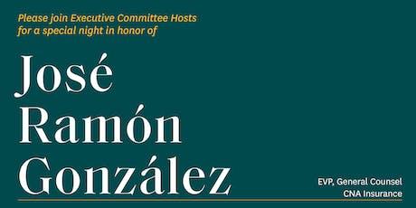Chicago Reception for José Ramón González, CNA Insurance tickets