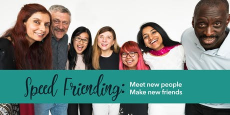 Speed Friending: Meet New People & Make New Friends (Philly) tickets