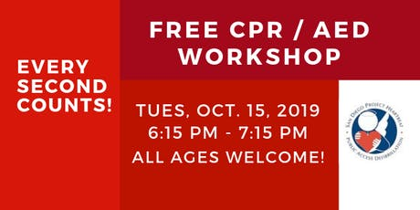 CPR / AED Workshop  tickets