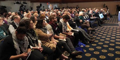 Annual conference about Israel, the Israel lobby, Palestine, the elections and free speech tickets
