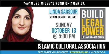 Build Legal Power for American Muslims with Linda Sarsour - Farmington Hills, MI tickets