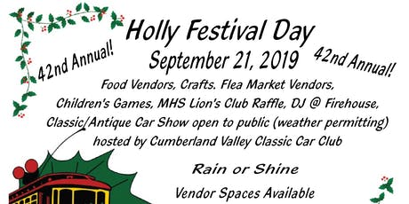 Holly Festival Day tickets
