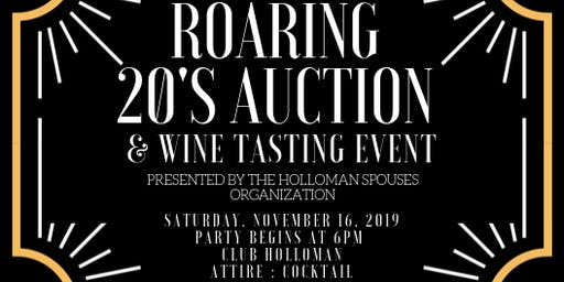HSO Great Gatsby Auction and Wine Tasting