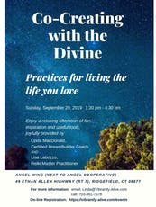 Co-Creating with the Divine: Practices for living the life you love tickets
