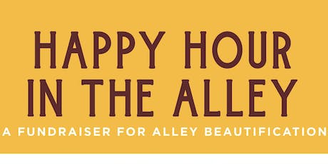 Happy Hour in the Alley tickets