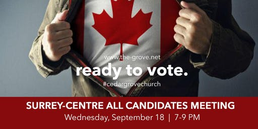 Surrey-Centre Riding   All Candidates Meeting