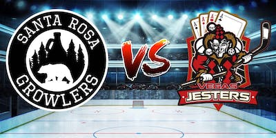 Santa Rosa Growlers vs. Vegas Jesters- Hockey Game