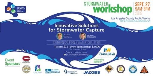 Southern California Water Coalition Stormwater Workshop