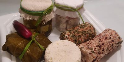 HOLIDAY CHEESE MAKING CLASS - Learn to make cheese & Edible handmade gifts