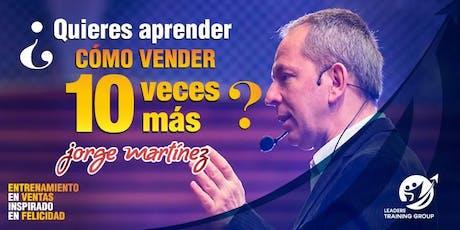CÓMO VENDER 10 VECES MÁS- SANTIAGO DE CHILE boletos