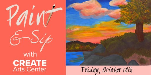 October Paint & Sip with CREATE