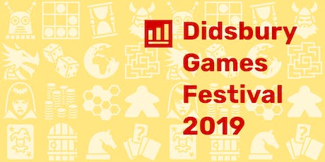 Didsbury Games Festival 2019 tickets