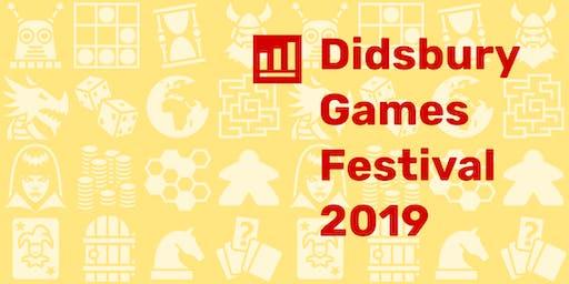 Didsbury Games Festival 2019