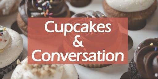 Cupcakes & Conversation at CASA!