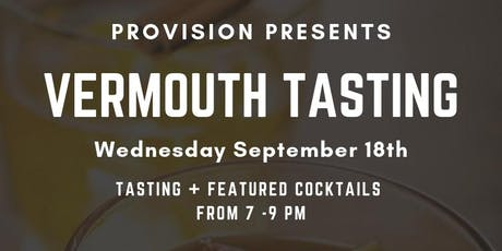 Vermouth Tasting at PROVISION tickets