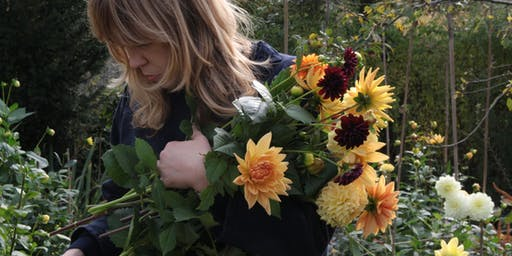 Arranging flowers for the home at Kettle's Yard