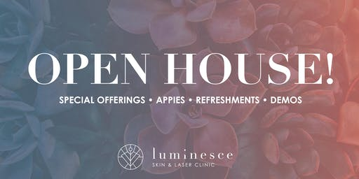 Luminesce Skin Open House