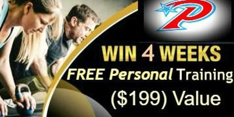 Win 4 Weeks Free Personal Training  tickets