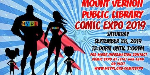 3rd Annual MVPL Comic Expo