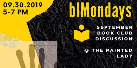 blMondays Book Club Edition: September 30 tickets