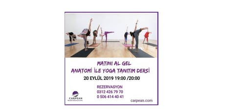Anatomi ile Yoga tickets