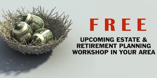 Lancaster: Free Estate & Retirement Planning Workshop