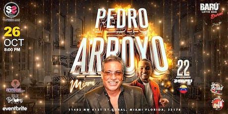 PEDRO ARROYO  tickets