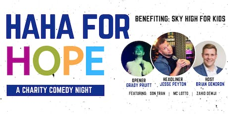 HaHa for Hope: A Comedy Charity Night tickets