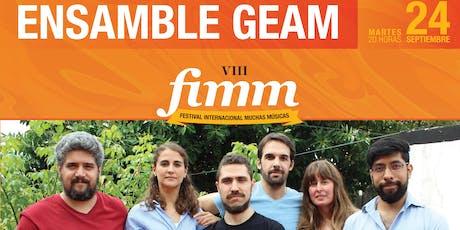 Ensamble GEAM (Argentina) entradas