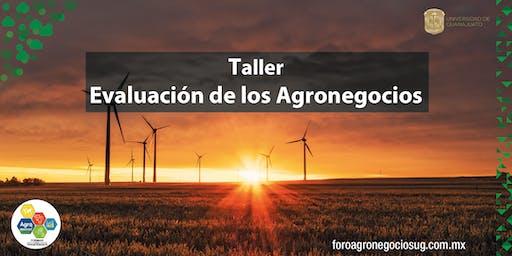 """Taller """"Evaluación de los Agronegocios"""""""