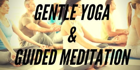 GENTLE YOGA AND GUIDED MEDITATION- GILDA'S CLUBHOUSE tickets