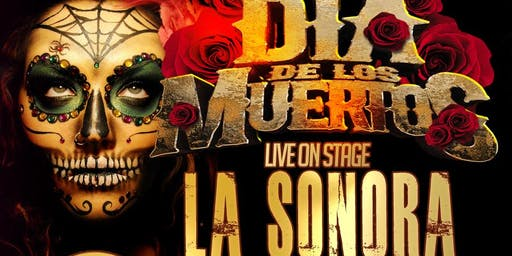 La Sonora Dinamita full band from Colombia. Dia de los Muertos Fri Nov 1