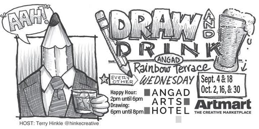 Angad Arts Hotel DRAW & DRINK Oct.,16th