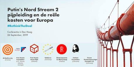 Putin's Nord Stream 2 pijpleiding en de reële kosten voor Europa tickets