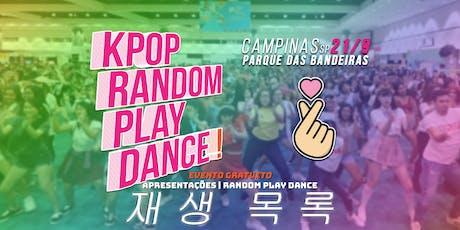 Random Play Dance Campinas ingressos