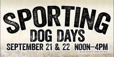Sporting Dog Days Event