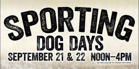 Sporting Dog Days Event tickets