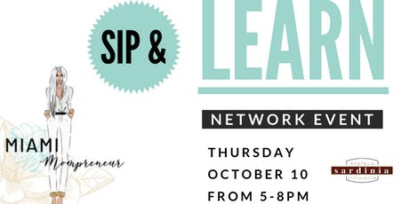 Sip and Learn for Mompreneurs tickets