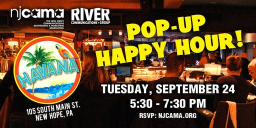 NJCAMA Pop-Up Networking Happy Hour