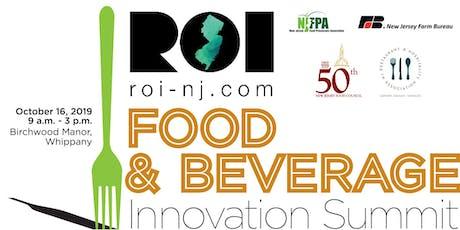 ROI-NJ Food & Beverage Innovation Summit tickets