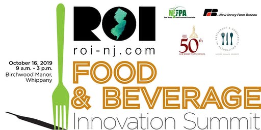 ROI-NJ Food & Beverage Innovation Summit