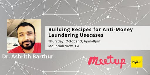 Building Recipes for Anti-Money Laundering Usecases