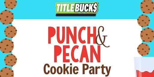 Punch & Pecan Cookie Day at TitleBucks Savannah, GA 2